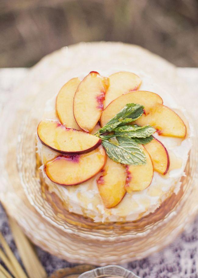 peach wedding cake 1 - Fab Mood | Wedding Colours, Wedding Themes ...