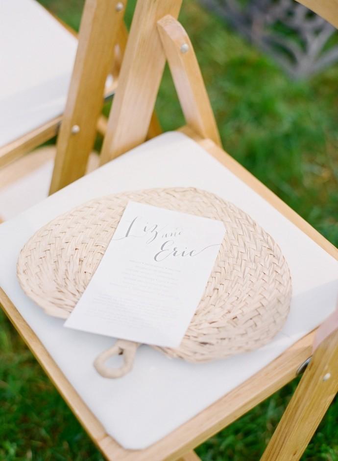 Summer wedding favor ideas