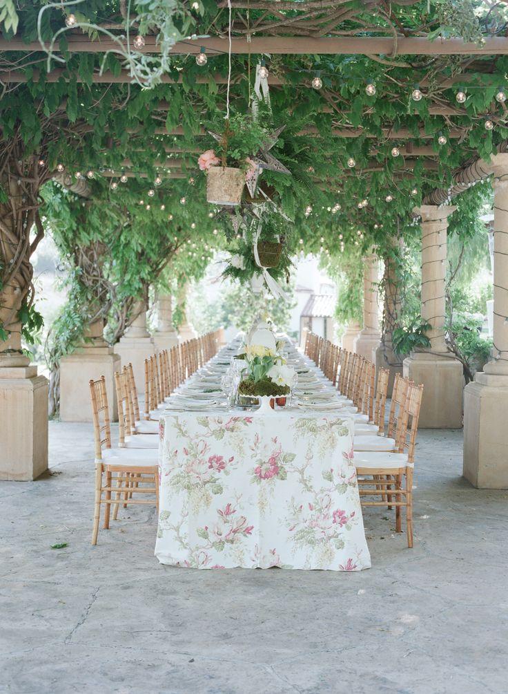 vine yard wedding reception