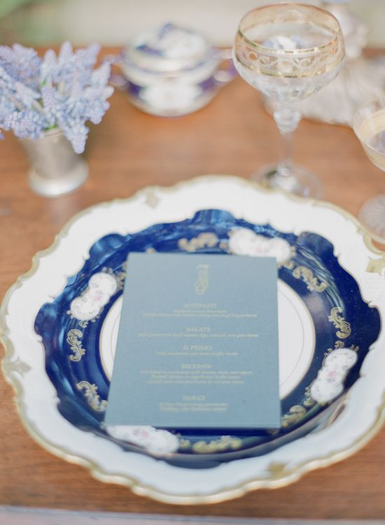 bluebell mint navy blue wedding : beach wedding inspiration,navy blue mint beach wedding ideas,wedding colors,wedding palette,mint ocean blue bluebell beach,wedding place settings,wedding menu ideas,