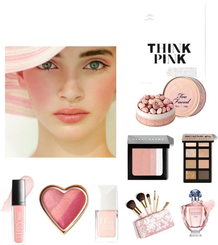 blush pink makeup pink makeup looks