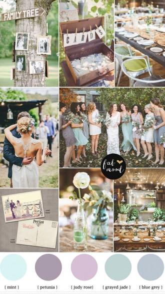 shades of purple,blue grey and grayed jade vintage wedding,wedding colors ideas,vintage wedding decorations,vintage wedding reception ideas,color palette,shades of purple,blue grey and grayed jade vintage wedding