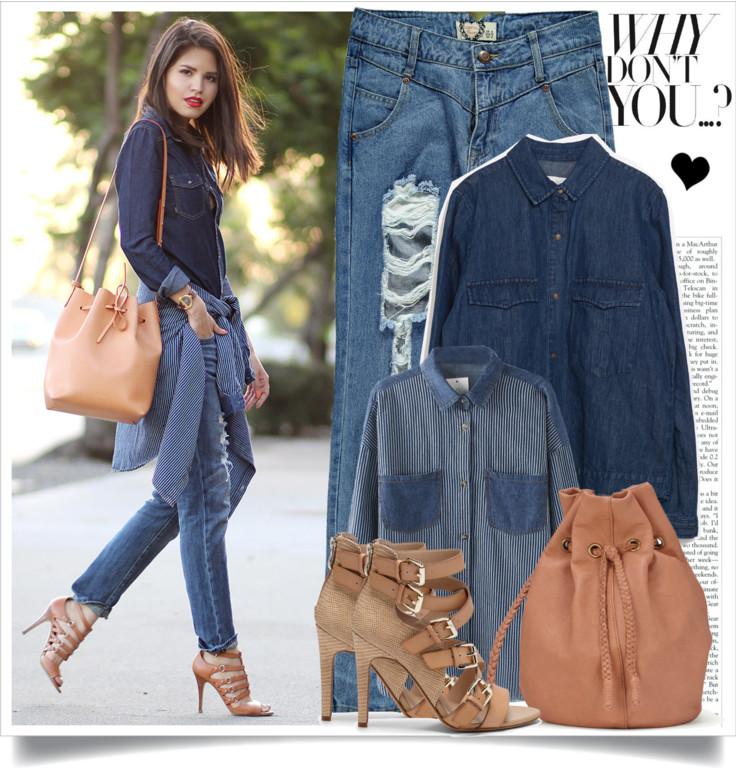 how to wear denim on denim,fasthion street style,street style denim style double denim is having a fashion moment,denim day,street fashion denim,denim jacket,denim jean,denim top