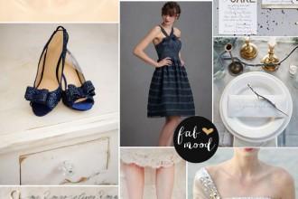 Metalic wedding palette - Metallic Wedding Palette { silver+navy blue },Metallic wedding ideas,silver and navy blue wedding color palette,metallic wedding color