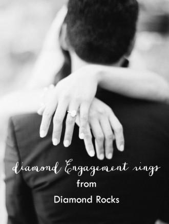 engagement rings from diamond rocks