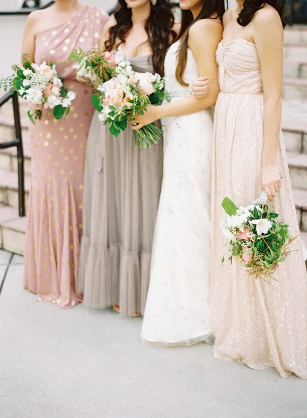 Rose Blush Gold Wedding Themewedding Color Palette