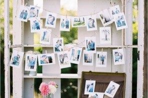 21 Fabulous wedding photo display ideas