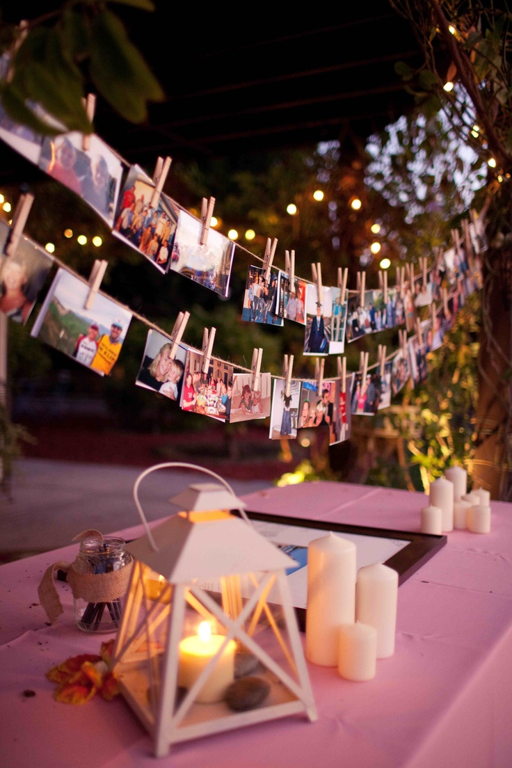 21 fabulous wedding photo display ideas reception for Album de la decoration