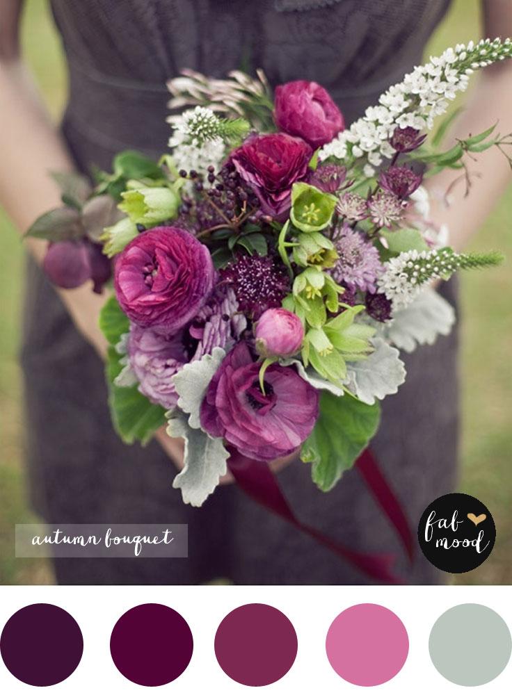 Magnificent Autumn Wedding Bouquet Bridal Bouquet