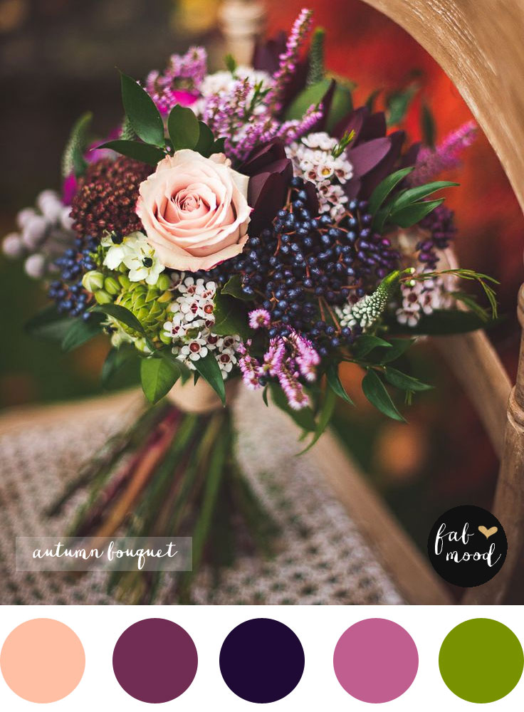 Fall purple wedding bouquet,Autumn Wedding Bouquet
