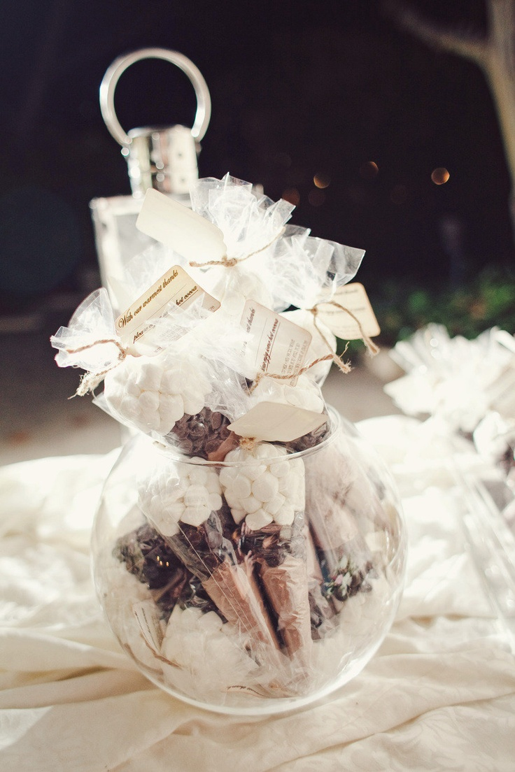 autumn wedding favor | fabmood.com