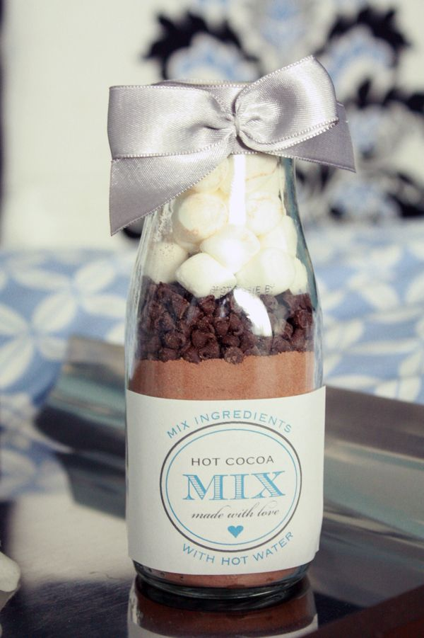 Cocoa autumn wedding favors | fabmood.com