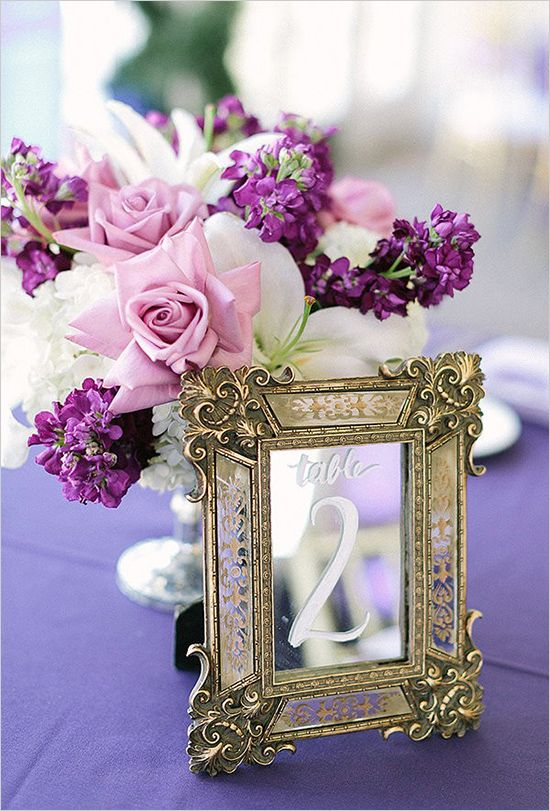 Purple And Gold Wedding Photographed By Romabea Images Designed Majell Del Castillo