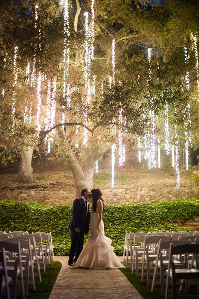 10 outdoor wedding twinkle light ideas,wedding twinkle lights