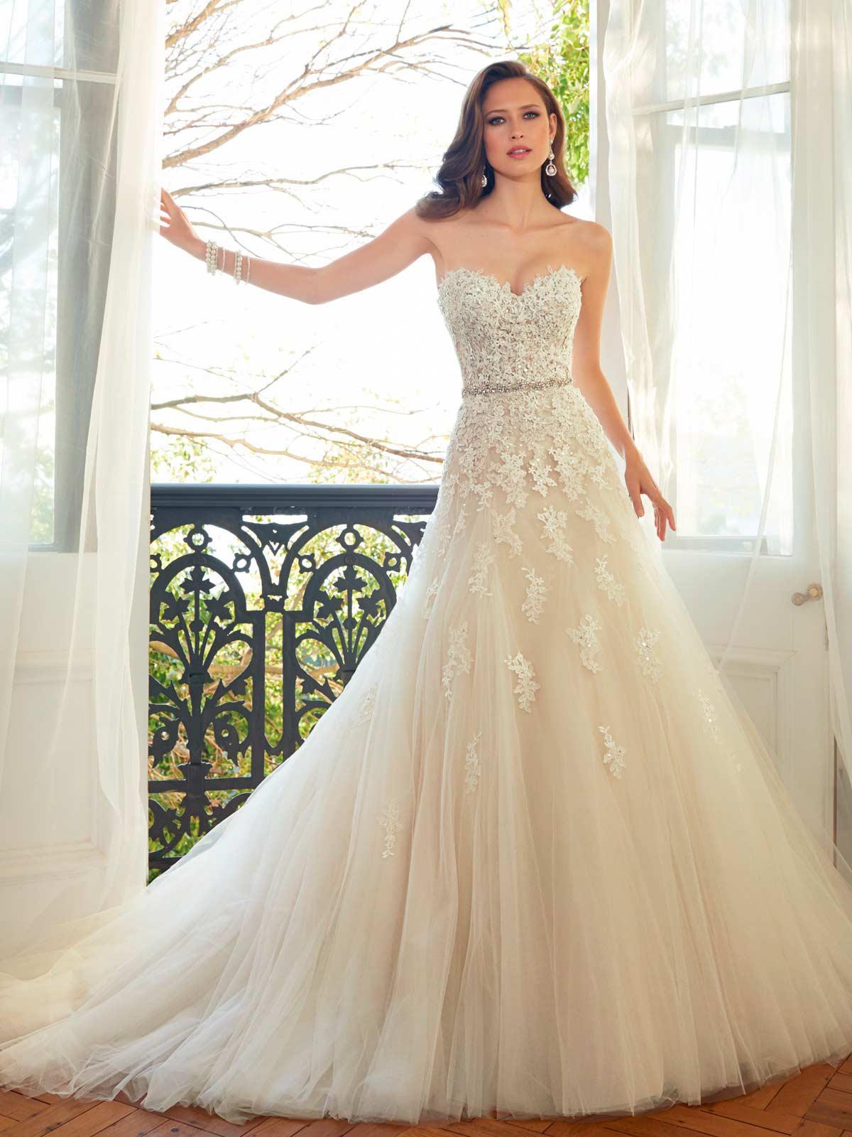ec9e5a87a77 Sophia Tolli Spring 2015 Wedding Gowns