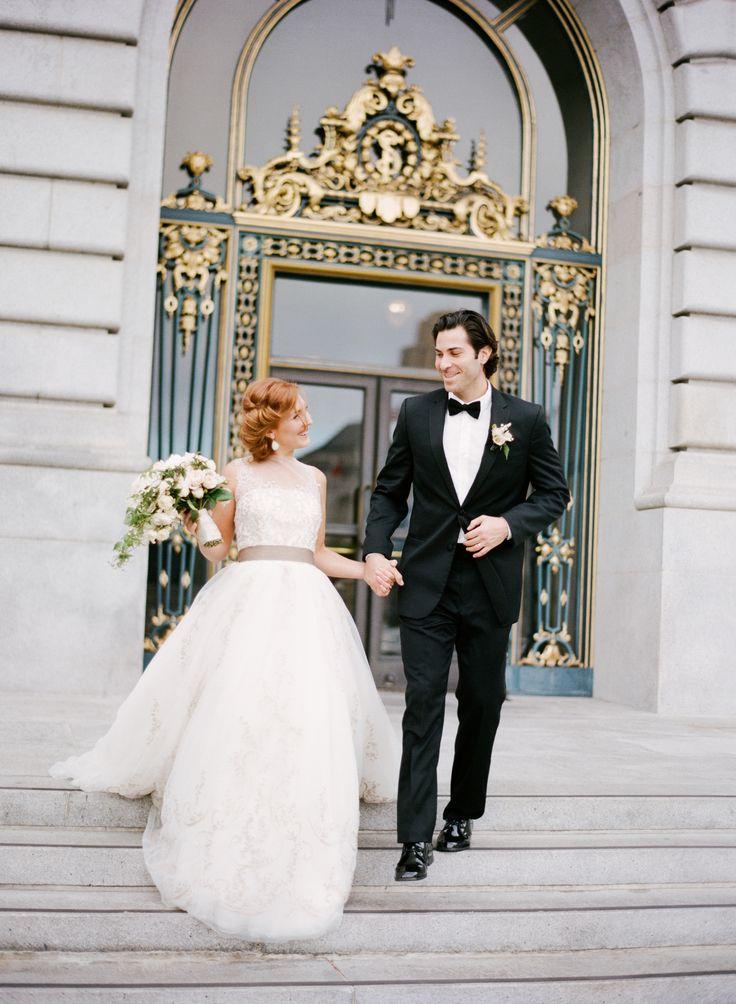 black and white city wedding |Photography: Sylvie Gil - sylviegilphotography.com