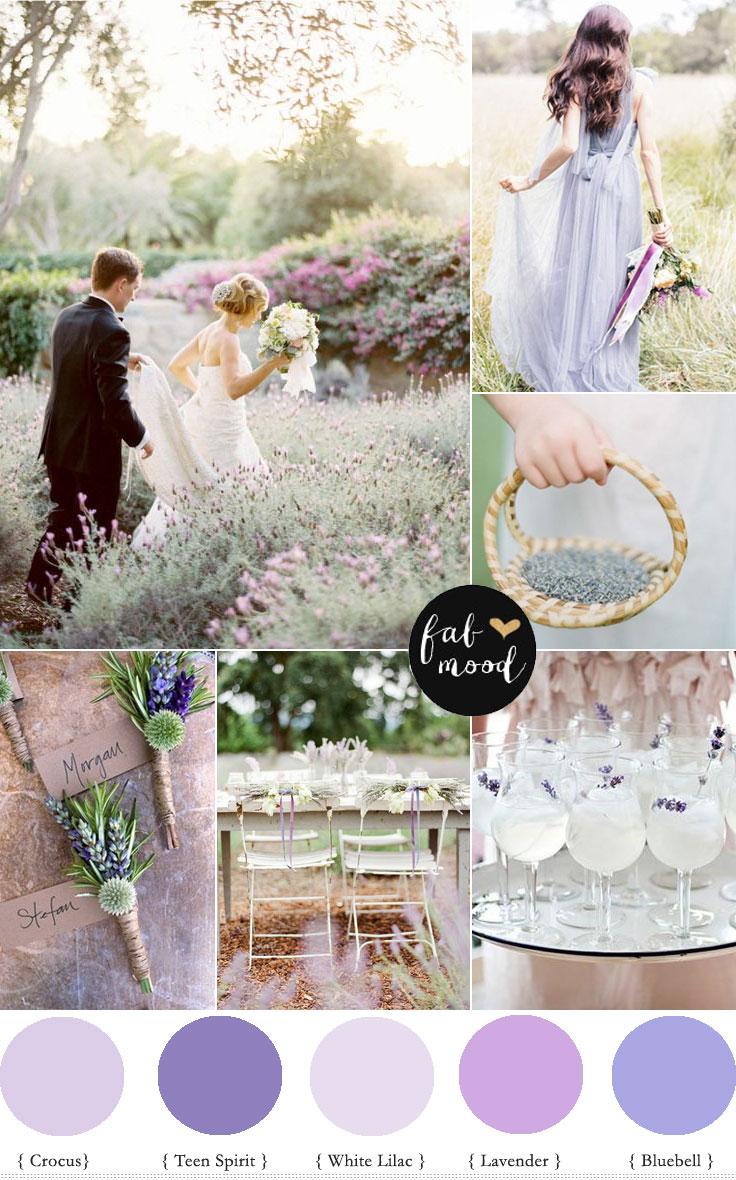 Secret Garden Wedding Lavender Wedding