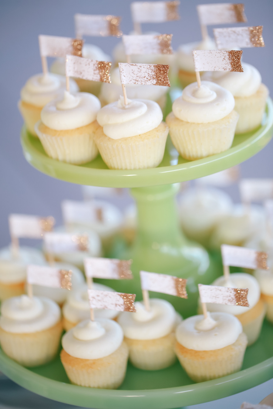 cup cakes | mint an grey wedding colour palette |Photography Kori & Jared Photography