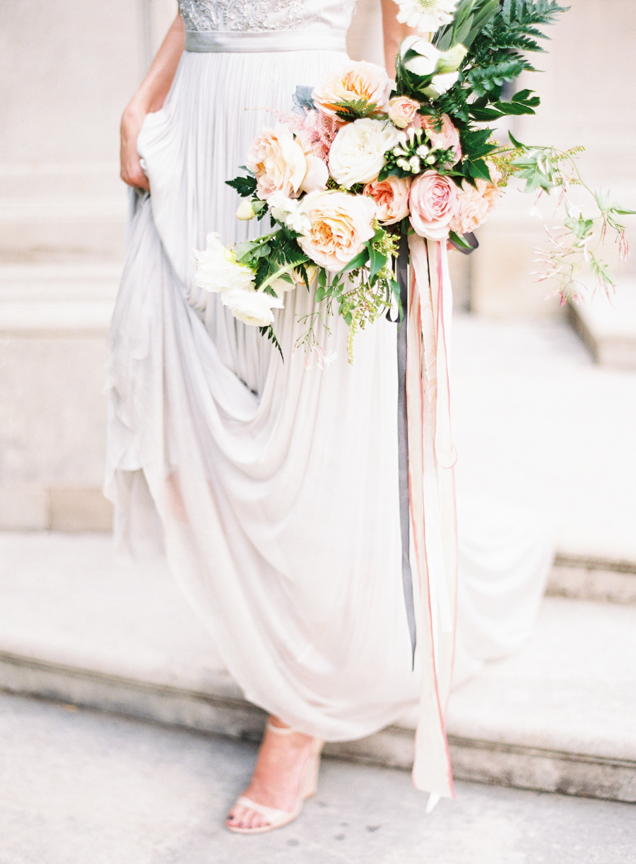 Romantic Pastel Wedding Inspiration Shoot from Kayla Barker Fine Art Photography - kaylabarker.com