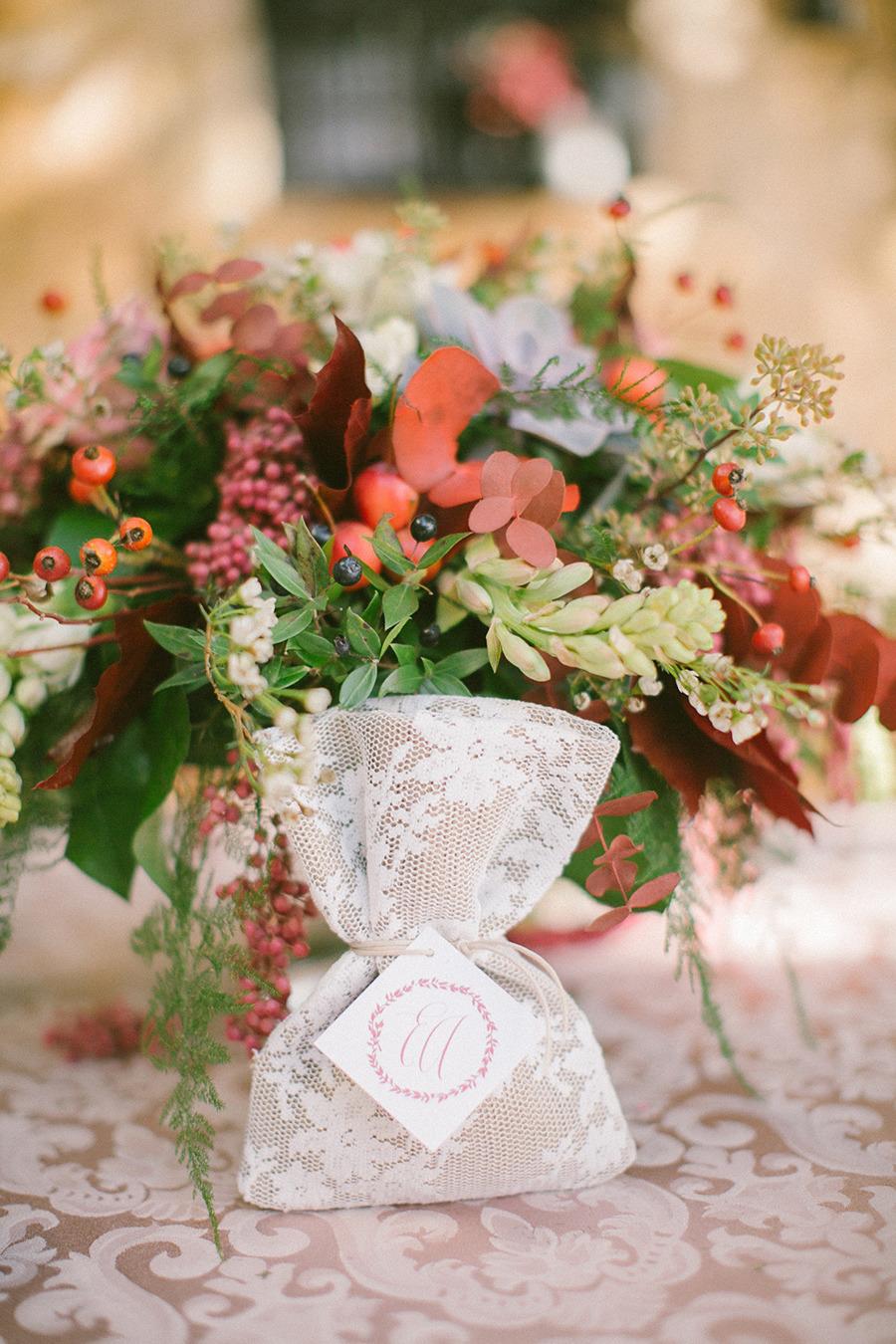 winter wedding favor - Boho Chic Wedding Inspiration Shoot from Anna Roussos Photography - annaroussos.com | Read more : http://www.fabmood.com/boho-chic-wedding-inspiration-shoot-anna-roussos-photography