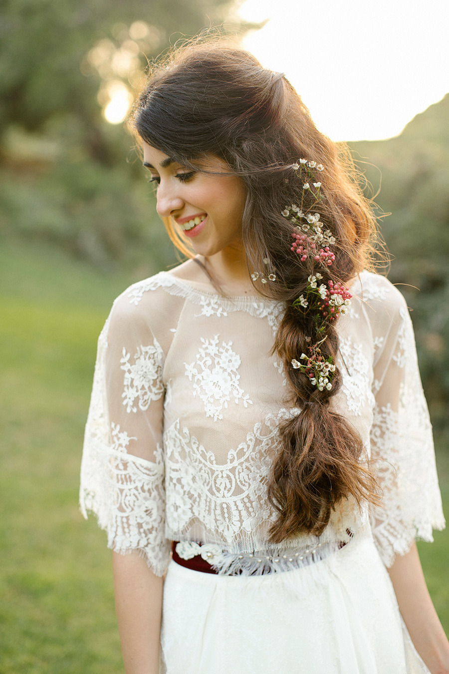 winter wedding ideas - Boho Chic Wedding Inspiration Shoot from Anna Roussos Photography - annaroussos.com | Read more : https://www.fabmood.com/boho-chic-wedding-inspiration-shoot-anna-roussos-photography