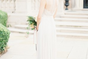 Romantic Pastel Wedding Inspiration Shoot from Kayla Barker Fine Art Photography