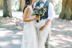Rustic Oregon Summer Wedding from Maria Lamb Photography