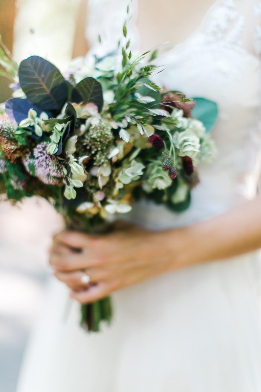 wedding bouquet - Rustic Oregon Summer Wedding from Maria Lamb Photography - marialamb.co