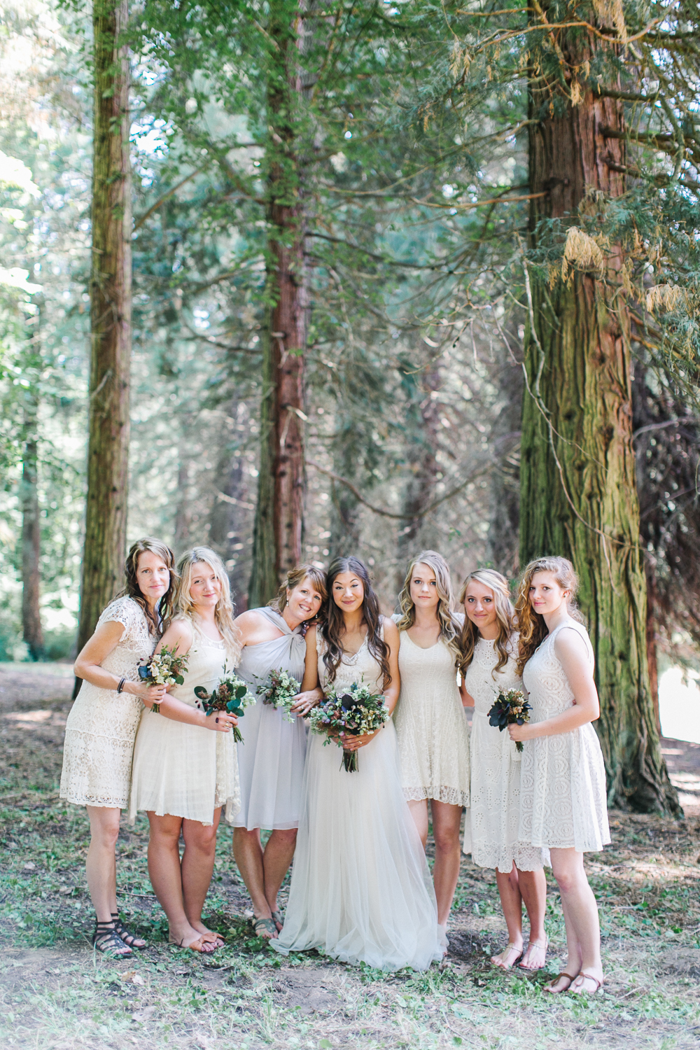 Bridesmaids - Rustic Oregon Summer Wedding from Maria Lamb Photography - marialamb.co