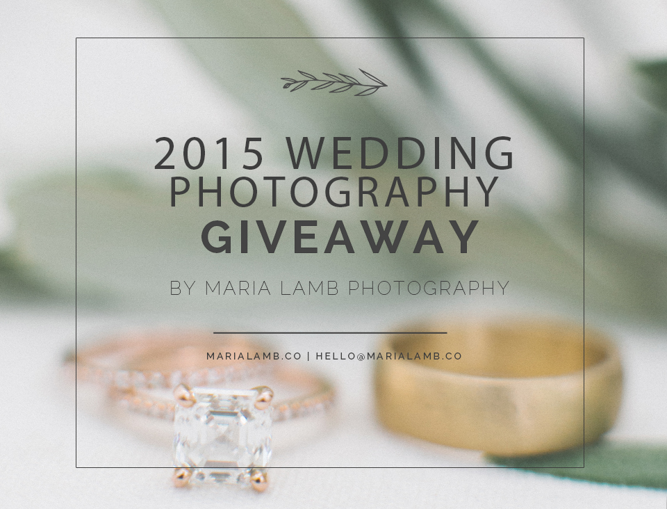 wedding giveaway from Maira Lamb Photography | more fabmood.com