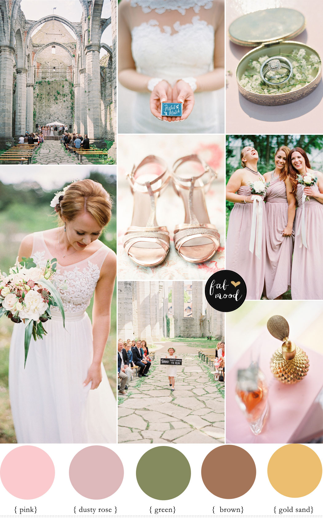 Earth tone wedding colour - Rustic Summer Wedding | Photography : 2 Brides Photography - 2brides.se Read more www.fabmood.com/rustic-summer-wedding-2-brides-photography