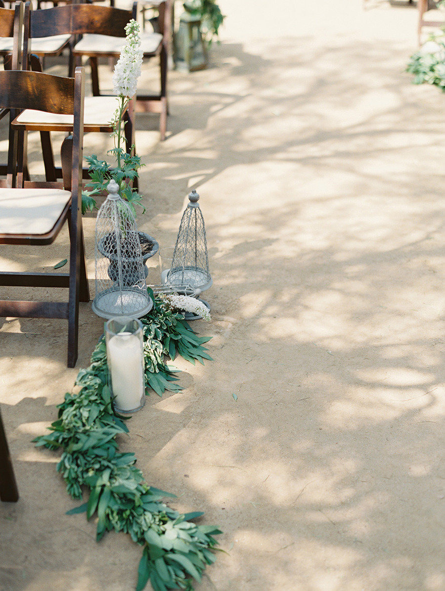 Traditional elegance outdoor wedding | Santa Barbara Historical Museum Wedding from Lane Dittoe Photography - lanedittoe.com