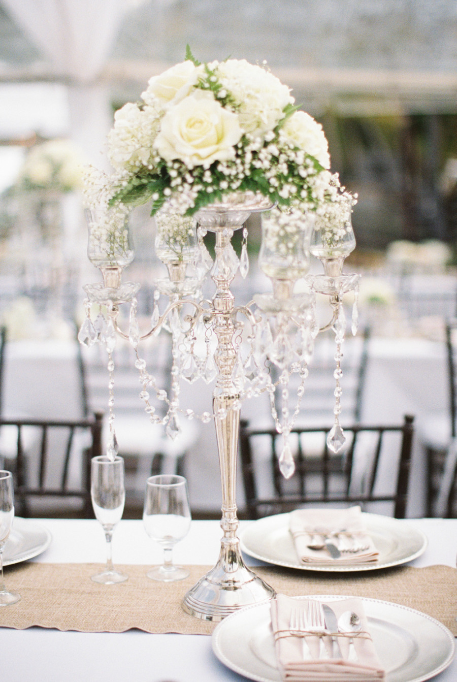 Wedding Centerpieces { Extravagant or Simple }