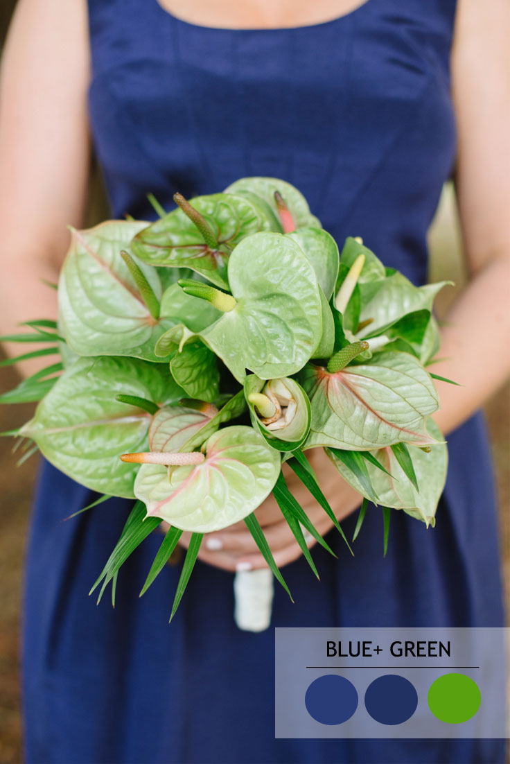 blue and green summer wedding color combos | Read more : 15 Fabulous Summer wedding Color Combos : Navy Blue and green | Read more : https://www.fabmood.com/fabulous-summer-wedding-color-combos
