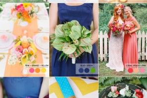 15 Fabulous Summer wedding Color Combos : SUMMER WEDDING COLORS | Read more : http://www.fabmood.com/fabulous-summer-wedding-color-combos