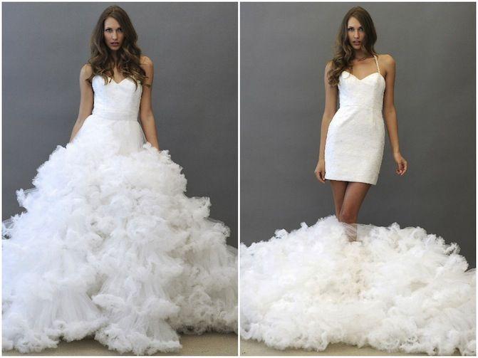 Jaden by Hayley Paige 2 in 1 wedding dress