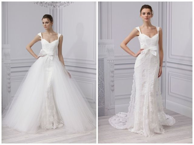 2 in one wedding dress
