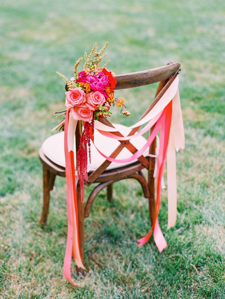 coral wedding color schemes