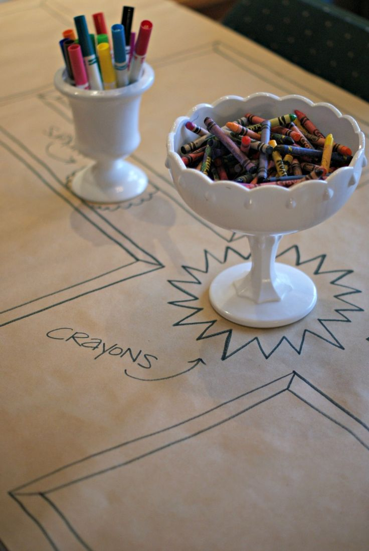 Cute ideas for the kids at the wedding