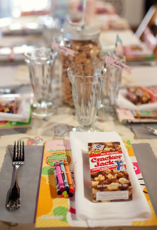cute ideas for kids at the wedding