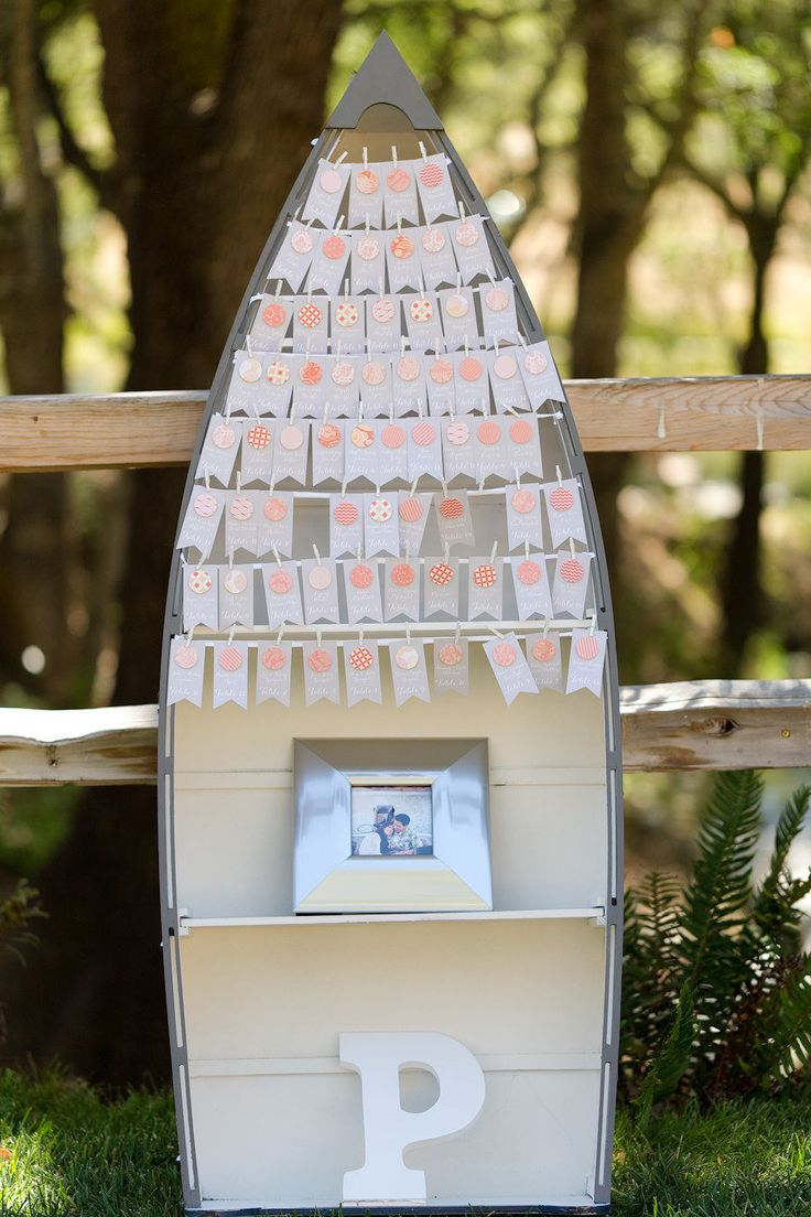 boat escort card display - Photography: Molly, MEF Photography - mefphoto.com