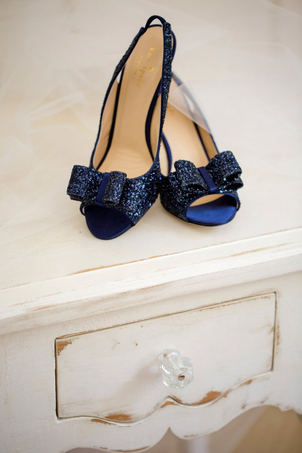 Something blue. Kate Spade. Photography by katelynjames.com