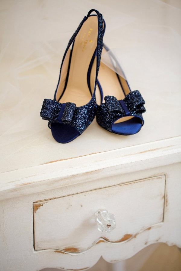Something blue. Kate Spade. Photography by katelynjames.com
