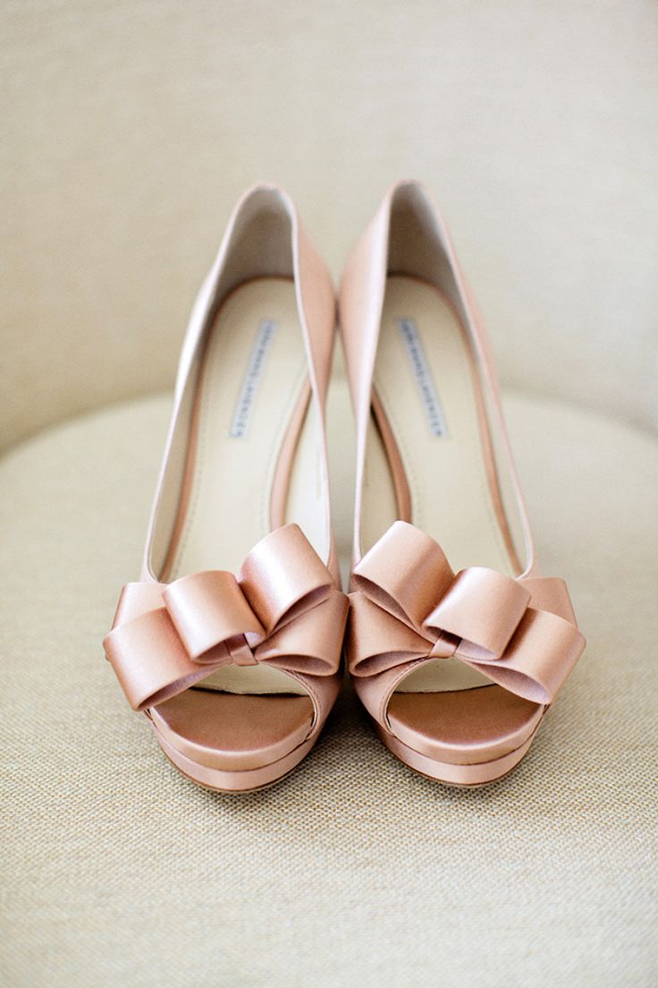 Pretty in Pastel wedding shoes