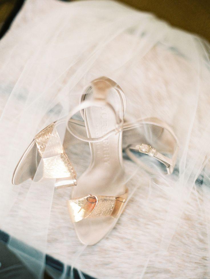 Elegant Renaissance Blackstone Hotel Wedding . Burberry wedding shoes