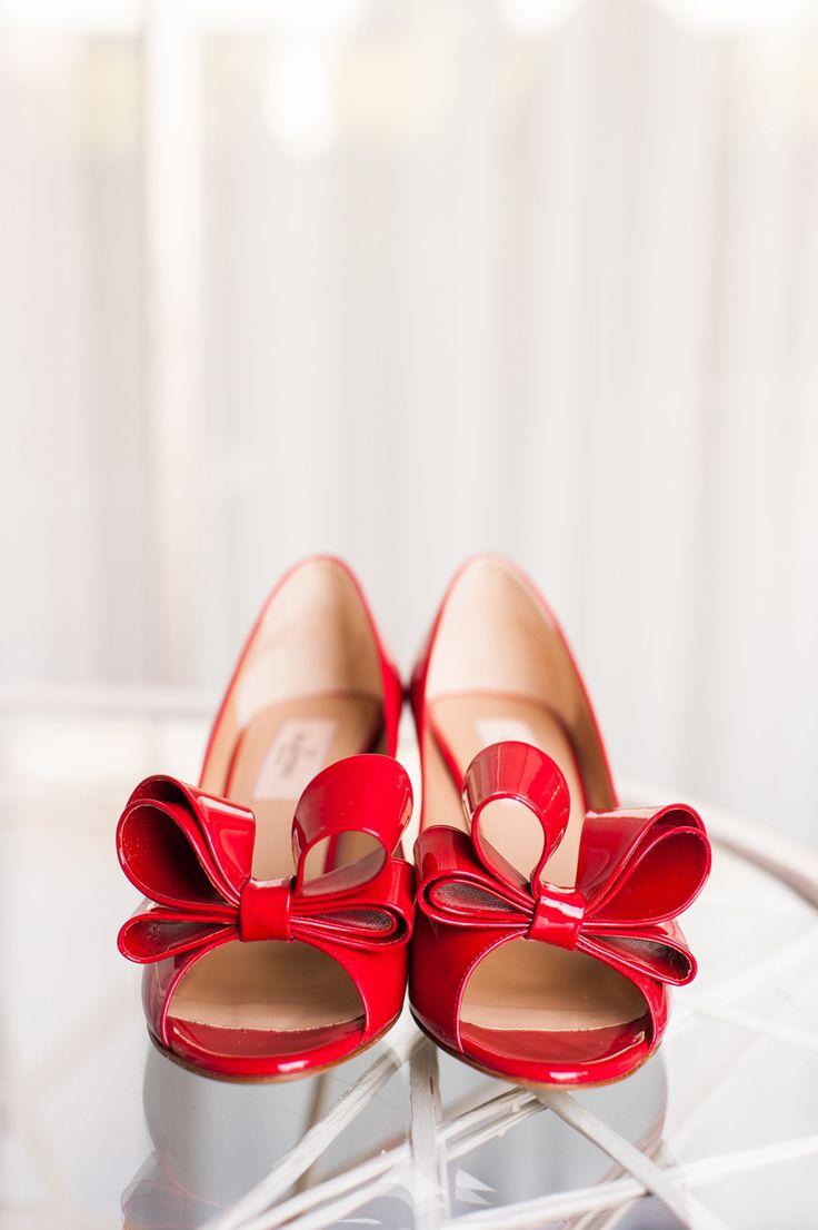 Red Valentinos - valentino.com | Photography: Candice Benjamin Photography - candicebenjamin.com