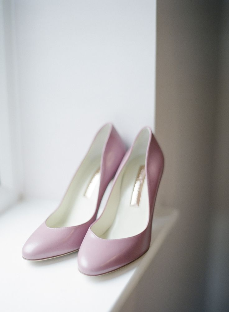 Purple pumps | Photography: Polly Alexandre