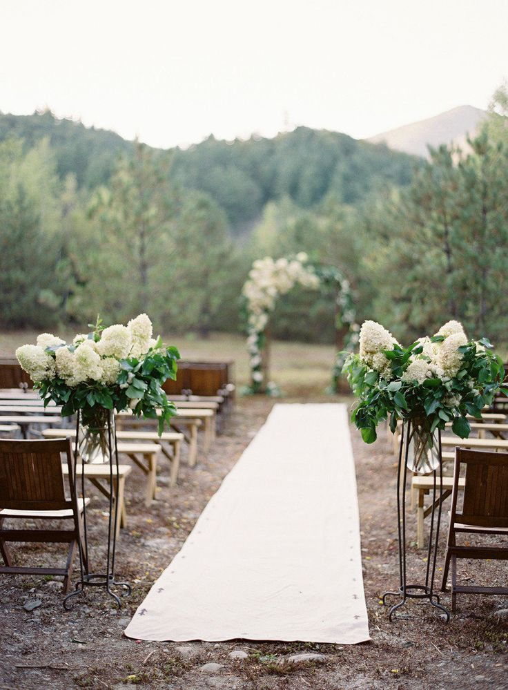 12 ways to make you wedding aisle look fabulous wedding ceremony decorationswedding ceremony ideaswedding ideas junglespirit Image collections