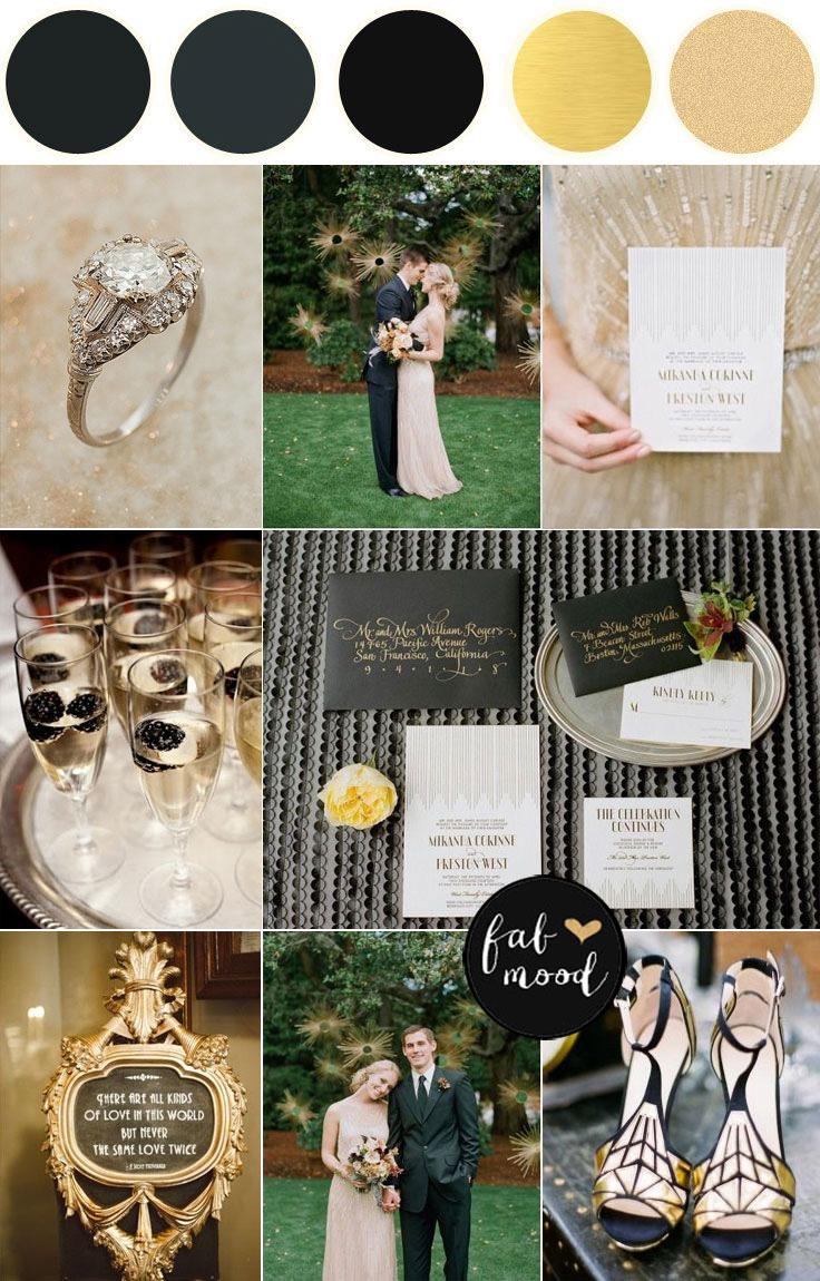 Jazz Age with a 1920s wedding theme | 2 summer wedding themes ideas : fabmood.com