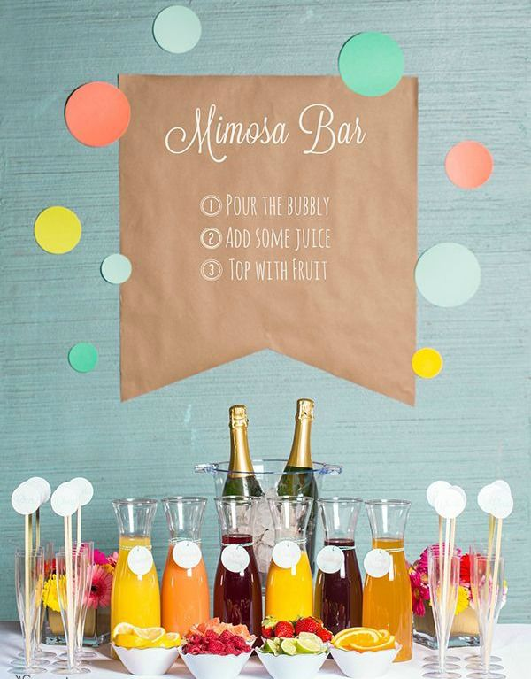 Wedding bar : party ideas fun and inspiring. Pop the champagne and enjoy